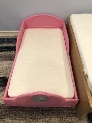 Crib mattress and princess bed for Sale in Burbank, CA