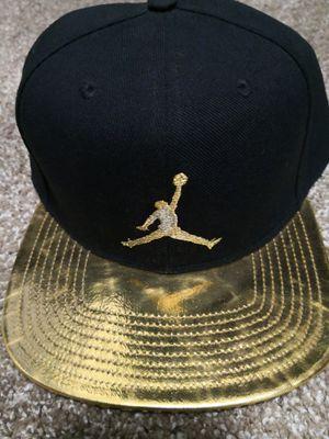 Jordan Gold print Snapback hat for Sale in Phoenix, AZ