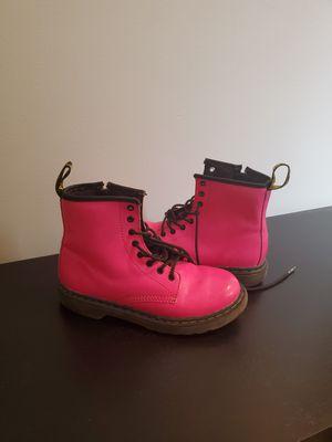 Girls size 2 Doc marten boots for Sale in Lawrenceville, GA