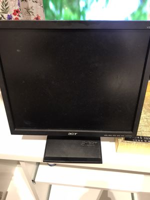 """Acer monitor 17"""" used for Sale in Mission Viejo, CA"""