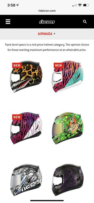 All Icon motorcycle helmets for Sale in Orlando, FL