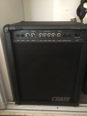 Crate BX-50 50 watt Bass Amp for Sale in Los Angeles, CA