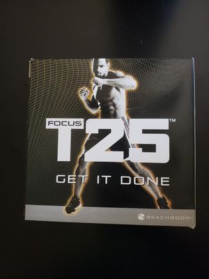 T25 workout DVDs for Sale in Edmonds, WA