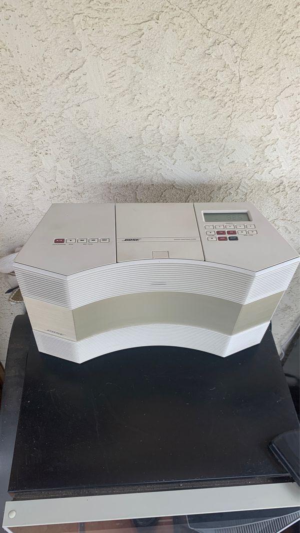 Bose acoustic wave model cd 3000 read description