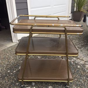 Vintage Cosco MCM Cart Table Stand for Sale in Des Moines, WA