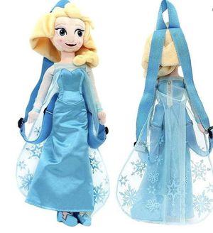 Frozen Elsa (plush backpack) for Sale in Monterey Park, CA