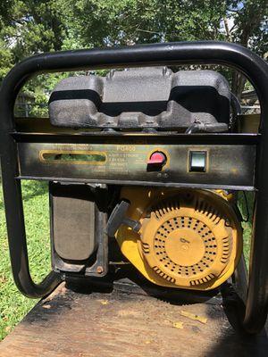 McCulloch fg400 3000 watt generator for Sale in Houston, TX