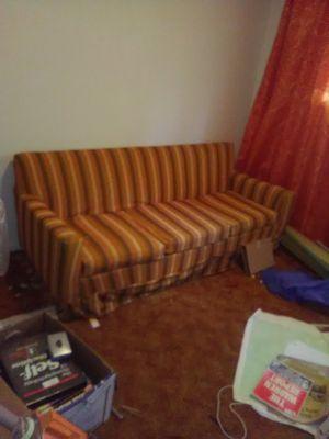 Retro Striped Couch for Sale in Alexandria, LA