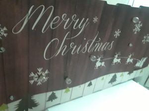 Picture frame christmas decoration for Sale in San Bernardino, CA