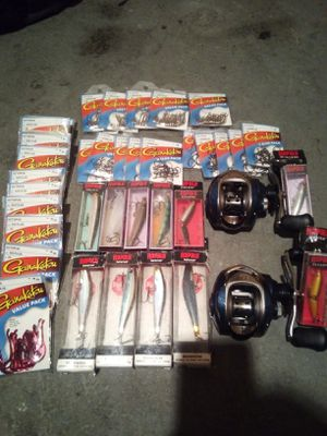 Brand New fishing gear for Sale in Everett, WA