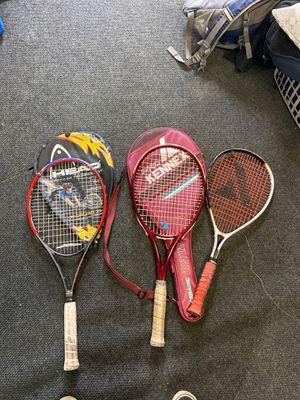 Tennis/racket ball rackets. for Sale in Norwalk, CA