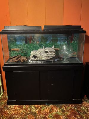 60 gallon fish tank for Sale in Peoria, IL
