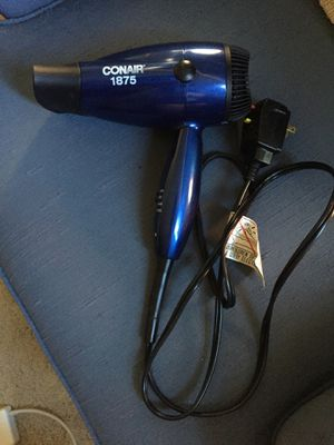 Used Working Conair 1875 Hair Dryer for Sale in San Francisco, CA