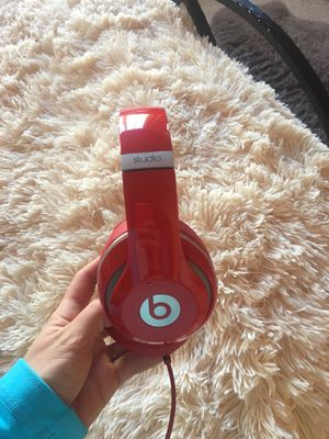 Red Studio Beats Headphones for Sale in Littleton, CO