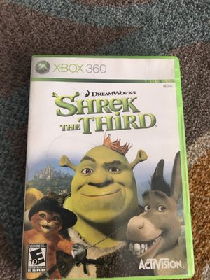 Shrek The third game for Xbox 360 for Sale in Las Vegas, NV