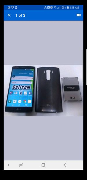 Lg g4 32gb unlocked great condition $80 for Sale in Washington, DC