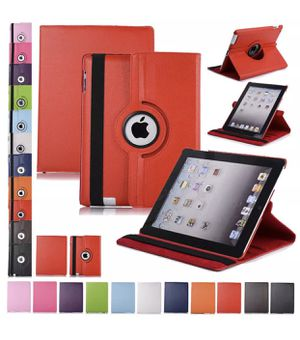 3 Apple ipad cases- red, rose and blue. $5 each! BRAND NEW! for Sale in Sacramento, CA