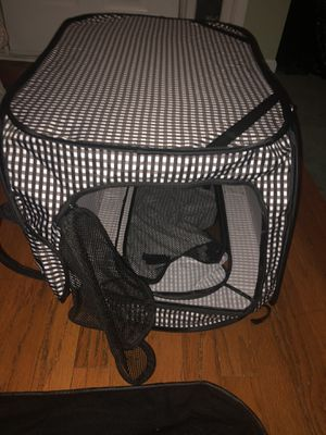 Soft Foldable Dog Crate for Sale in Sharpsburg, GA