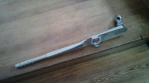 Snap on torque wrench 600 lbs +1/2 breaker bar +3/8 ratchet for Sale in Worcester, MA