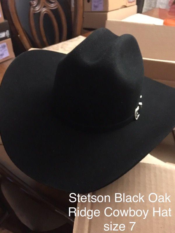 536f221b Stetson Black Oak Ridge Cowboy hat NEW for Sale in San Fernando, CA ...