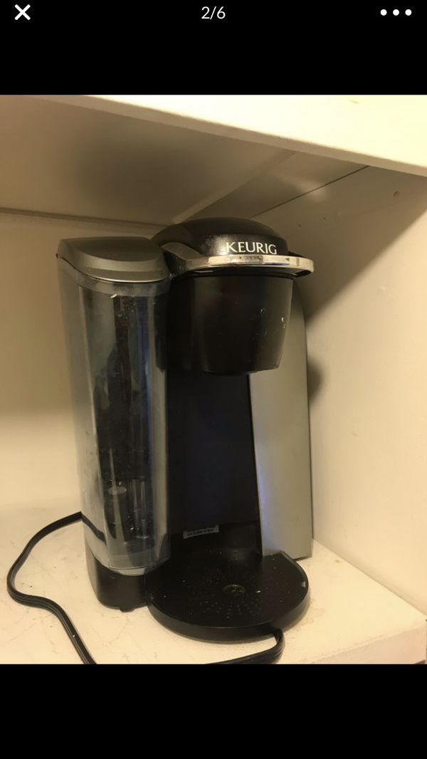Keurig coffee maker machine used