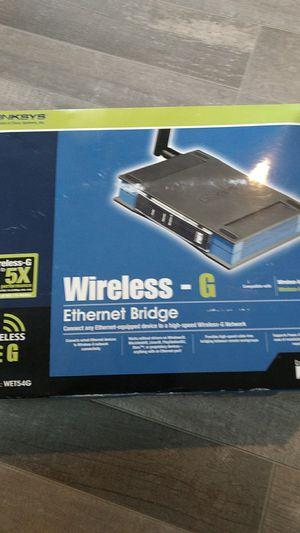 Wireless-G Ethernet bridge for Sale in Albuquerque, NM