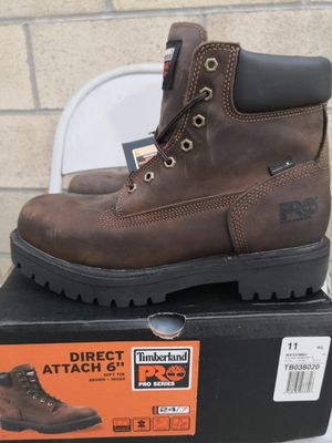 Brand new timberlands pro 24 /7 soft toe work boots size 11 and 11.5 for Sale in Riverside, CA