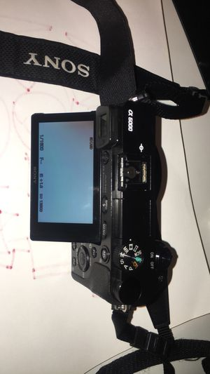 Sony A6000 camera for Sale in Seattle, WA