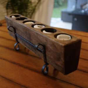 Wooden Candle Holder for Sale in Round Rock, TX