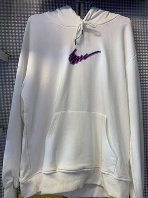White Nike hoodie size L for Sale in Denver, CO