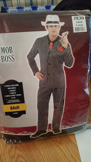 Halloween costume. Mob boss. for Sale in Jessup, MD