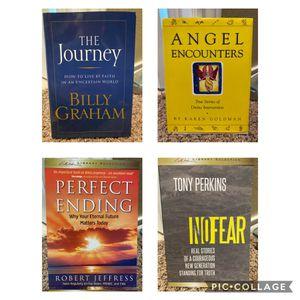 Set of 4 Christian books for Sale in San Antonio, TX