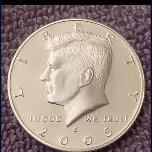 2005-S DCAM Gem Proof Kennedy Silver Half Dollar for Sale in Gilbert, AZ