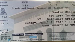 Yankee tickects for Sale in Waltham, MA