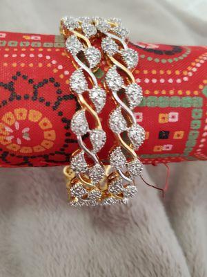 Bangles set/bracelets.2pc for Sale in Peoria, IL