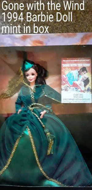 Vintage, Gone with the Wind collector Barbie in mint condition for Sale in Lebanon, TN