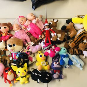 Plushies Kids Boys Girls Toys Dolls Plush for Sale in Whittier, CA