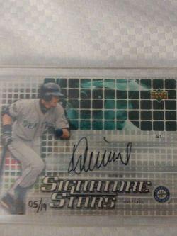 Ichiro Suzuki Ud 2003 Signature Stars for Sale in Miami,  FL