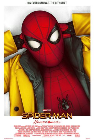 Spider-Man homecoming mondo limited numbered print Disney marvel for Sale in Leander, TX