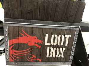 Msi loot box for Sale in Dallas, TX