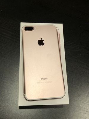 T-Mobile iPhone 7 Plus 128GB rose Gold with box for Sale in Aurora, CO