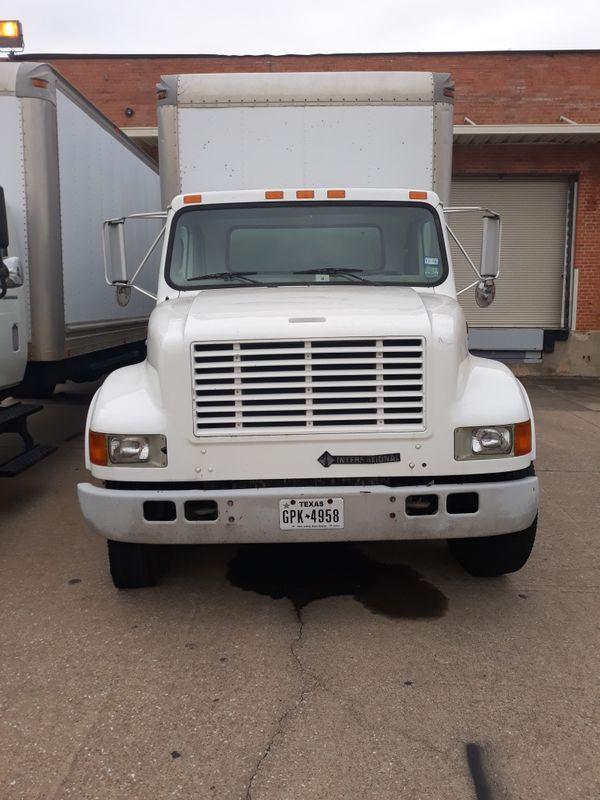 1999 International Box Truck For Sale In Arlington  Tx