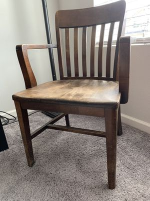 Antique wood chair for Sale in Tualatin, OR