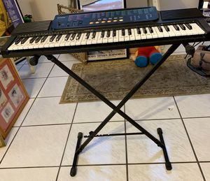 CASIO PIANO/ORGAN ELECTRIC PLAYER WITH STAND for Sale in Miami, FL
