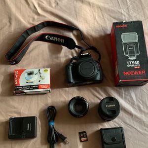 Canon T3i EOS Rebel for Sale in Philadelphia, PA