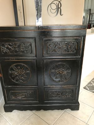 Wine / Bar Asian cabinet for Sale in Dana Point, CA