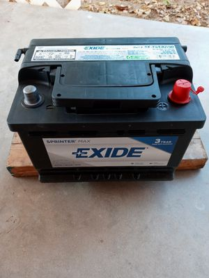 Car battery 600CCA (Used) Group size T5 for Sale in Glendale, AZ