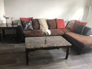 Sectional couch set for Sale in Stone Mountain, GA