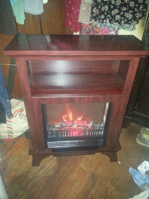 Heater (fireplace) with thermostat for Sale in Mount Airy, NC