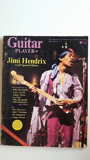 Guitar Player Magazine for Sale in City of Industry, CA